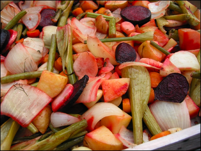 Oven-Roasted Veggies