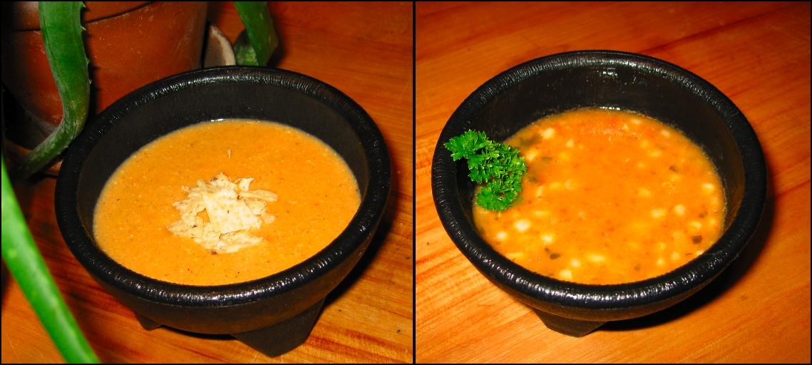 Corn Soup (Two Ways)