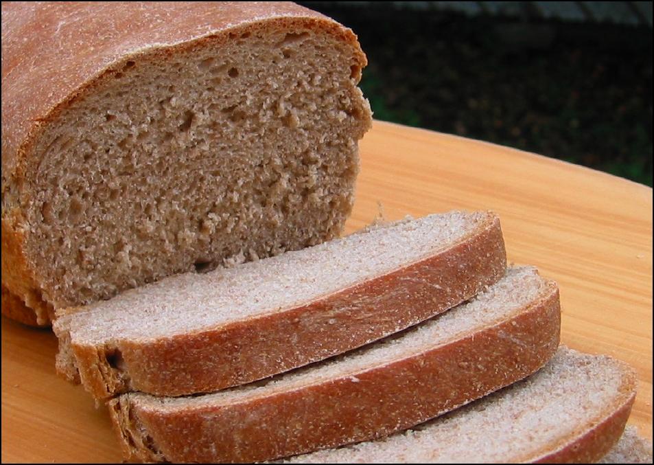 Whole Wheat Sandwich Bread (sliced)